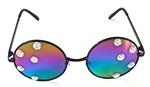 LUCY IN THE SKY WITH DIAMONDS OPAL DAYLILY HENDRIX GLASSES