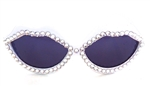 MOONDUST WHITE HOT LIPS SUNGLASSES