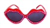 RASPBERRY QUEEN RED HOT LIPS SUNGLASSES