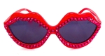 RUBY JUNGLE RED HOT LIPS SUNGLASSES