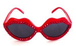 SCARLET FEVER RED HOT LIPS SUNGLASSES