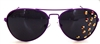 HUCKLEBERRY SMOKE AVIATORS
