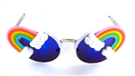 FANTASIA NEON RAINBOW ACID COCO GLASSES