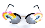 FANTASIA PASTEL RAINBOW ACID COCO GLASSES