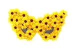 CANARY DAISY MADAME BUTTERFLY GLASSES
