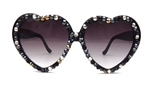 BLACK COMBO LOLITA GLASSES