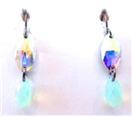RARE FIND CHRYSOLITE DROP EARRINGS