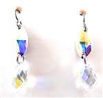 RARE FIND CRYSTAL OPAL DROP EARRINGS