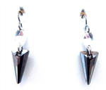 RARE FIND SILVERNIGHT PYRAMID EARRINGS