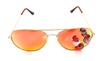 STRAWBERRY BLONDE ACID AVIATORS