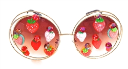 STRAWBERRY BLONDE JOPLIN GLASSES