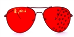 SCARLET FEVER AVIATORS