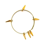 THUNDERBIRD GOLD DAGGER LARGE BANGLE