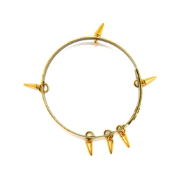 THUNDERBIRD GOLD DAGGER SMALL BANGLE