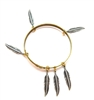 THUNDERBIRD LADYHAWKE SMALL FEATHER BANGLE