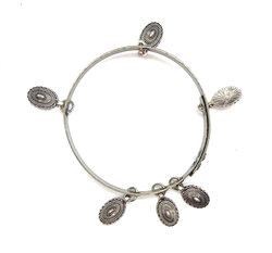 THUNDERBIRD CONCHO BANGLE