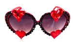 TRUE ROMANCE RED DOUBLE TROUBLE LOLITA GLASSES