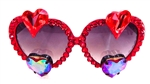TRUE ROMANCE RED HOT BANG LOLITA GLASSES
