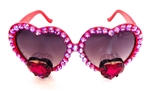 TRUE ROMANCE RED MOXIE LOLITA GLASSES