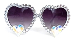 TRUE ROMANCE WHITE MOONBEAM LOLITA GLASSES