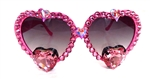 TRUE ROMANCE PINK PUFF LOLITA GLASSES