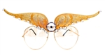 WESTRAY GOLDEN PANTHER WINGS AVIATORS