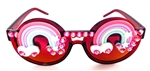 XANADU RAINBOW ACID PEEKABOO GLASSES