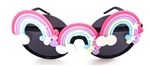 XANADU RAINBOW PEEKABOO GLASSES