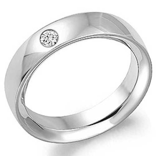 diamond 10k white gold wedding ring