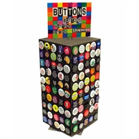 button counter display- Free with $250 of Merchandise only