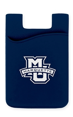 Marquette Golden Eagles Marquette Silicone Phone Wallet