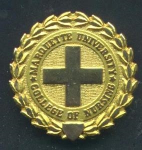 Marquette University Nursing Graduation Pin