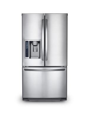 Brushed Steel Fridge