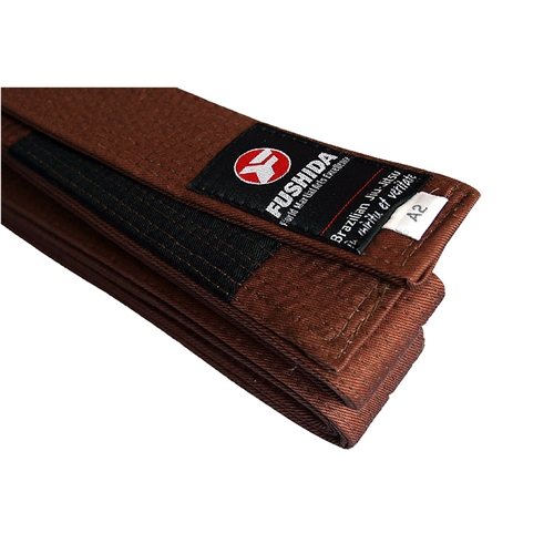Fushida Brazilian Jiu-Jitsu Belt (Brown)