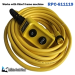 Cord And Switch Assy,  Up & Down Yellow Replaces Chief™ p/n  611119