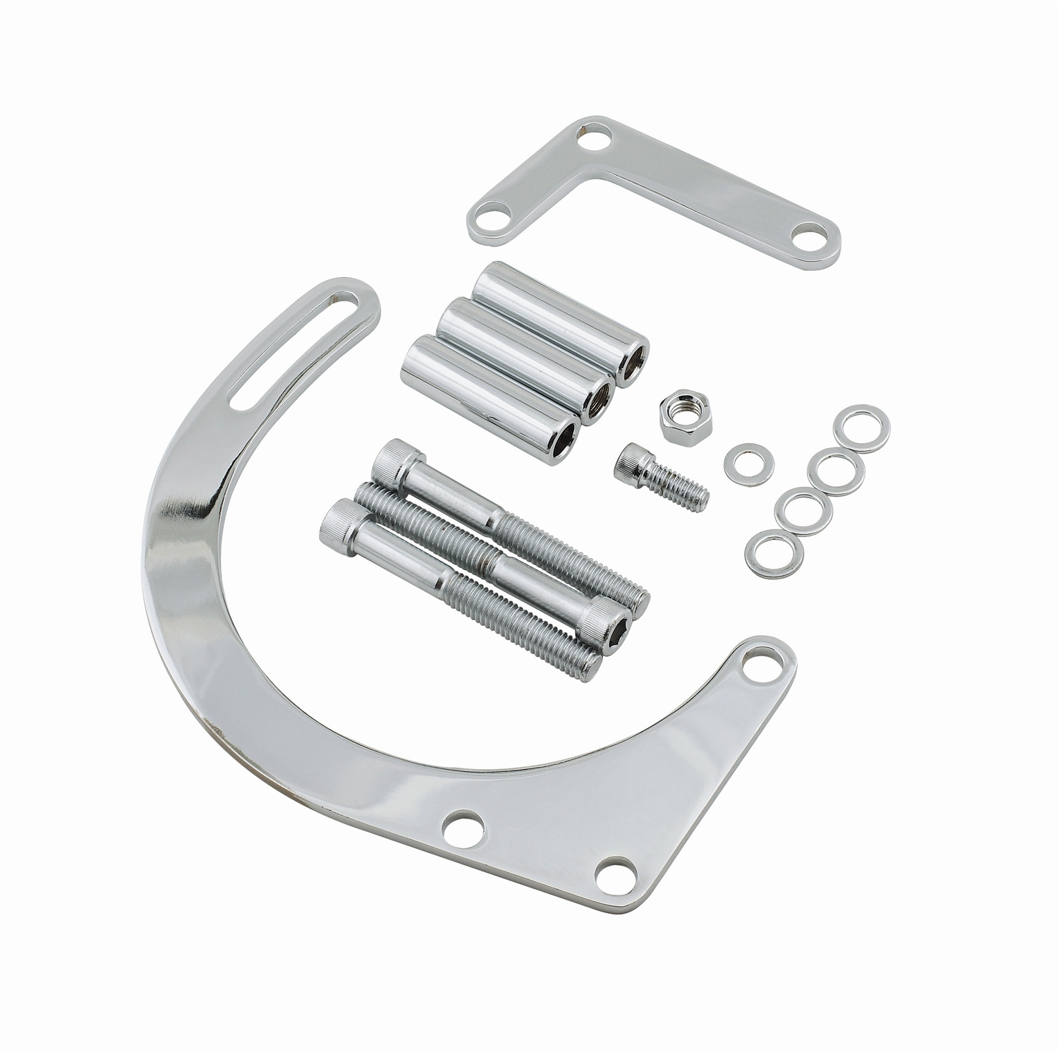 Chevrolet Performance Gen V Lt1 Lt4 Aluminum Bare Block: Mr Gasket 5179 Low Mount Alternator Brackets At ATKHP.com