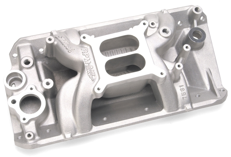 Edelbrock 7531 rpm air gap amc intake manifolds at for Gap 75014