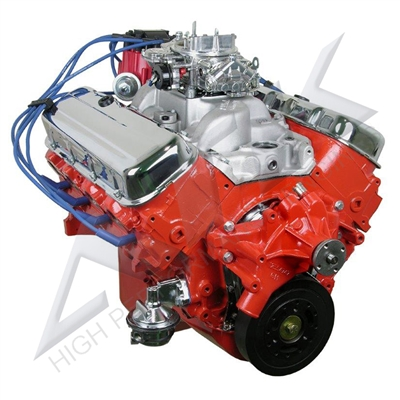 chevy 454 complete crate engine 415hp. Black Bedroom Furniture Sets. Home Design Ideas