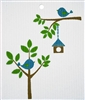 Wash Towel-100% Biodegradable -  Birdhouse