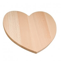 Practic - Heart Cutting Board - Wood