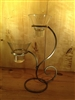 "Danish Iron Scroll 2 ""Leif"" Candle Holder - Scandinavian Home"