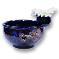 Chip Bowl w/ Flower Frog - Large
