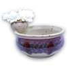 Chip Bowl w/ Flower Frog - Medium
