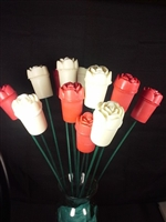 Candle Roses - As seen on Channel 3000!