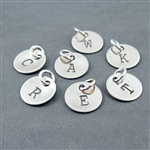 (03)9mm 316L Alphabet  6pack C