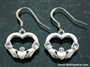 """I Give You My Heart"" Claddagh Earrings(MYHEARTEARRINGS)"