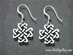 Celtic Love Knot Cross Earrings(S151)