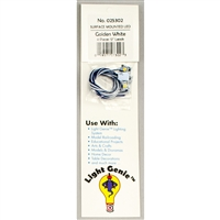 "025302 LIGHT GENIE LED PEARL WHITE WITH 12"" LEADS (4 pack)"