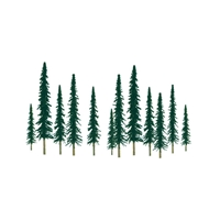 0592010 CONIFER 2 to 4 SCENIC N-scale, 36/pk