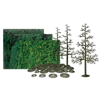 0592068 PINE 8 SCENIC KIT All-scales, 6/pk